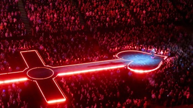 Rebel Heart stage.