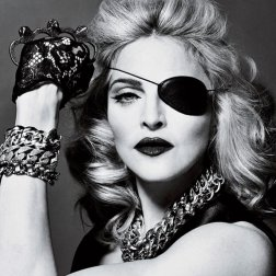 #6. Madonna. 85 plays.