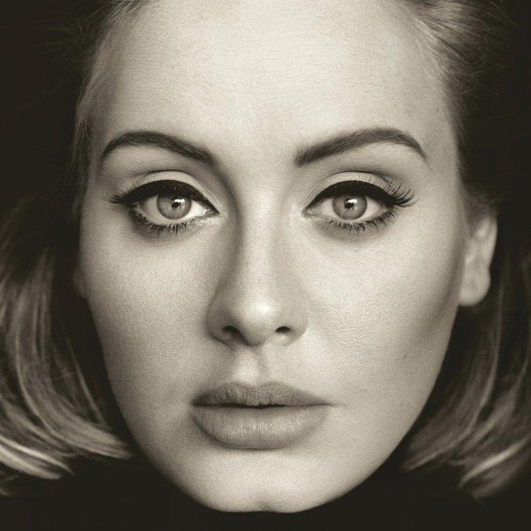 #8 Adele - 25 - 44 plays