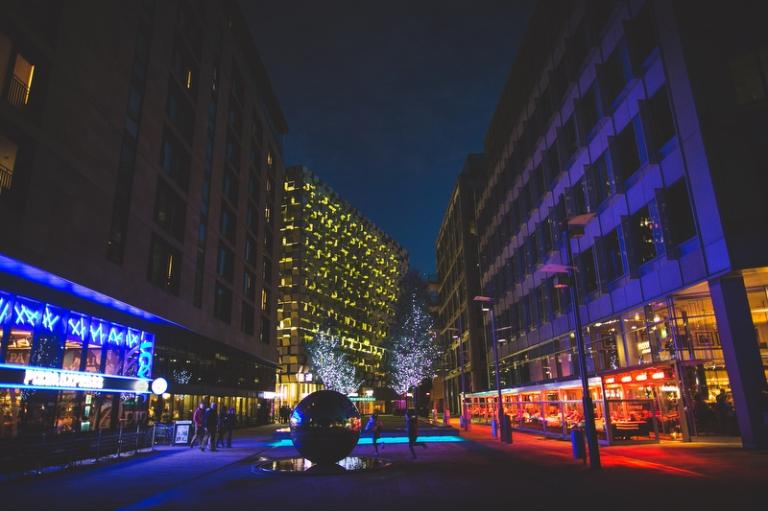 Sheffield-at-Night