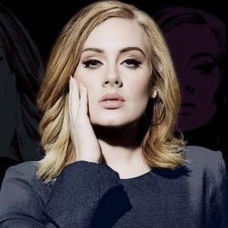 #8 Adele - 60 plays