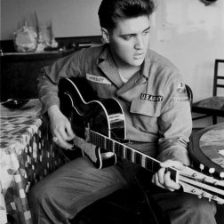 #9 Elvis Presley - 60 plays